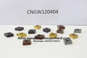 China solid pcbn pcd cbn inserts RNGN RCGX RCMX to machine brake disk rolls on sale