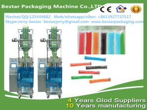 China Automatic liquid frutis syrup packing machine form bestar packaging machine on sale