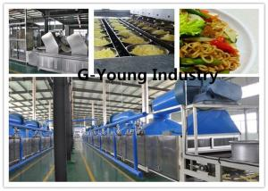 China Automatic Fried Instant Noodle Making for frying and fried noodle production line on sale