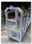 Durable galvanized steel lifting cradle ZLP630 rope suspended platform