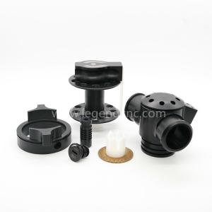 China Custom Design 5 Axis CNC Machining Services For Nylon ABS PEEK PC Parts on sale
