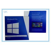 China Windows 8.1 Pro 32 64 Bit Full Version Windows Pro Retail Online Activation on sale