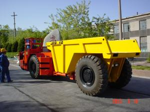 China KU 30 Tons Heavy Mining Trucks , Underground Mining Machines Low Energy Consumption on sale