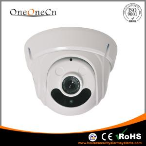 China Motion Detector dome High Definition IP Camera Support Two - way Audio on sale
