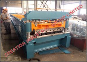 China High Rib Composite Metal Floor Deck Sheets Rollforming Machine Applicated in Floor Decking Solution on sale