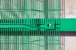 Heavy duty 358 anti climb wire mesh fence