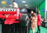 China Racing Simulator Chair Hydraulic, 360 Degree Driving Formula 1 Racing Simulator wholesale