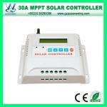 Auto 48V 80A LCD& Controlador solar da carga do diodo emissor de luz MPPT (QWM-4880CAP)