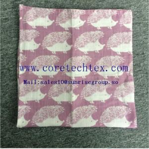 China Baby Muslin Swaddle Blanket with 100% bamboo on sale