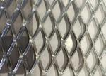China Heavy Decoration Expanded Metal Wire Mesh , Steel Diamond Mesh 0 . 8 MM Thickness wholesale