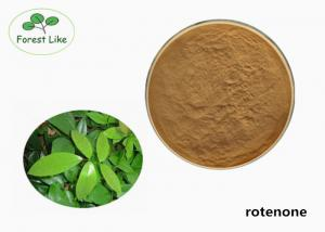China Natural Derris Root Extract Rotenone Powder 40% Rotenone Bio Insecticide on sale