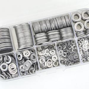 China Custom Stainless Steel Thick Flat Washers Deep Drawing Zinc Plating Surface on sale