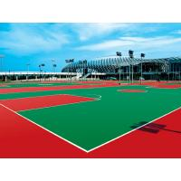 China Basketball Court PU Sports Flooring Multi Purpose Contracting Waterproof on sale