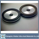 中国の金属の樹脂の結束のダイヤモンドの磨く粉砕車輪