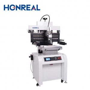 China High Precision Semi Automatic Printing Machine Solder Paste Flat bed Screen SMT Printer on sale