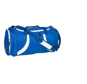 China promotional fashion blue travel duffel bag travelling bag on sale