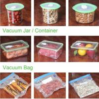 VACUUM JAR, VACUUM CONTAINER, channel vacuum pouch food storage bag, Safety food grade vacuum storage bag, home used vac