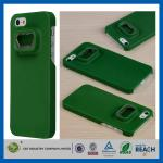Зеленые трудные пластичные случаи сотового телефона Iphone 5S Яблока, случай мобильного телефона Анти--Удара