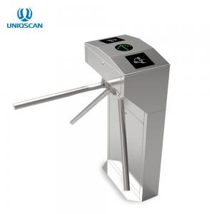 China Vertical Tripod Turnstile Gate Entrance / Exit Gate Card Swipe Machine on sale