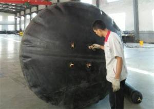 China Double Layers Marine Rubber Airbag Working Pressure 0.05 - 0.12MPa Polygon Shaped on sale