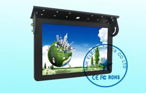 China PAL NTSC Auto 19 Inch LCD Bus Digital Signage Screen LED backlight , Public LCD Advertising Display on sale