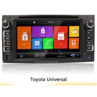 "6.2"" Toyota Universal Car Gps Navigation System With 2 Din Touch Screen Car Radio Dvd"