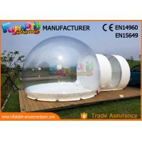 Transparent Advertising Inflatables / Inflatable Bubble Room 8m Diameter