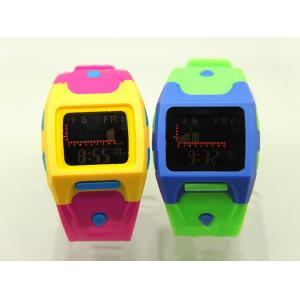 China Candy Color Outdoor Sport Game Watch , Multifunction Wrist Watch on sale