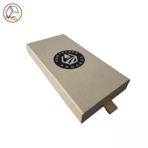 China Brown Gift Packing Box One Color Printing Raw Material Customized Service on sale