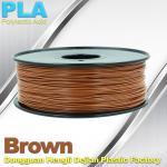 Brown PLA Filament Makerbot 3D Printer Materials  1kg  / spool