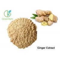 Factory Supply Natural Ginger Root Extract Gingerol Powder