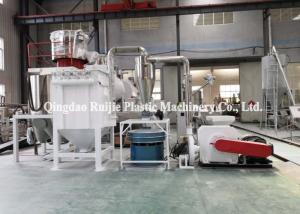 China 800kg/H ABB Inverter PVC Board Plastic Recycling Miller on sale