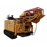 High Efficiency RC Hydraulic Mining Drilling Rig , 10m Mast Land Drilling Rigs