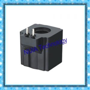 China Black AC 220V Hydraulic Solenoid Coil / Electromagnetic Coil NIJIA406 on sale