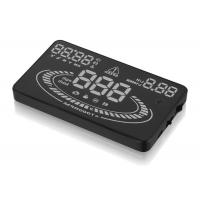 OBD2 EUOBD Interface Heads Up Display Speedometer , 12Vdc Auto Heads Up Display E300