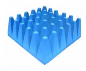 China PU foam based Hybrid Absorbers for EMC Anechoic Chamber on sale