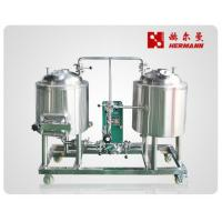 China Microbrewery Home Brewing Equipment Red Copper / Stainless Steel Body Material on sale