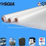 白い平織りのスクリーン印刷の網の高温抵抗