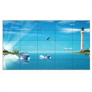 China Super Narrow Bezel Samsung Digital Signage Video Wall Displaysl 5x5 250W 450 Nits on sale