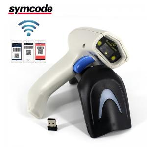 China Portable Android RS232 Barcode Scanner / 2D QR Scanner Ultra Long Battery Life on sale