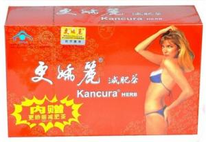 Quality Kancura Herb Slimming Coffee Tea Geng Jiao Li Healthy Herbal Tea for sale