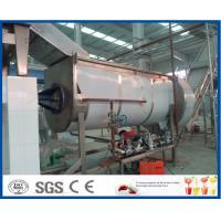 China Orange / Mango Juice Processing Industrial Fruit Juicer Machines , Juice Production Line on sale