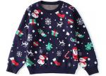 Hot Selling Jacquard Snowflake Ugly Christmas Sweater Computer Knitted Technics