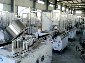 China Automatic Liquid Aerosol Filling Machine For Air Freshener , CE Approvals on sale