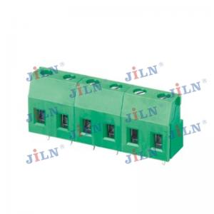 China 7.5 Mm Terminal Block Connector Straight JL129 High Precision PA66 Insulator on sale