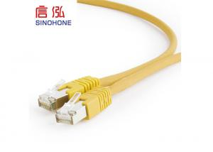 China Bare Copper Bulk CAT6 Shielded Cable HDPE Insulation 250V AC 2A on sale