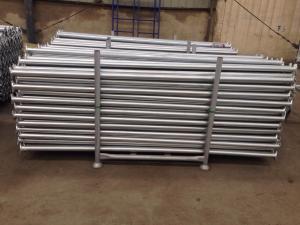 China Cuplock scaffolding ledger hot dip galvanized on sale