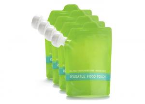 China Organic Squeeze Refillable Reusable Baby Food Packaging Spout Pouch on sale