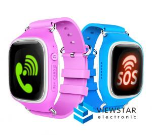 China Kids GPS Smart Watches / Great Smart Watches With LBS + SOS + WIFI Positioning on sale