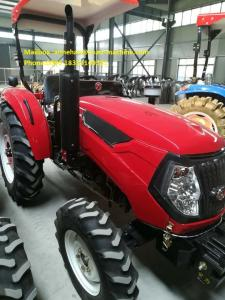 China Weichai Engine 4WD 100HP Agricultural Tractors With Implements Farm Tractor With Cabin And Fan on sale